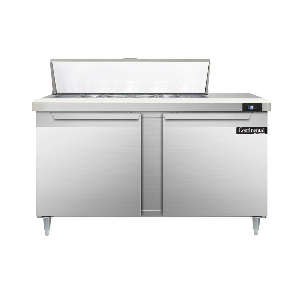 Continental Refrigerator D60N12 refrigerated counter, sandwich / salad unit