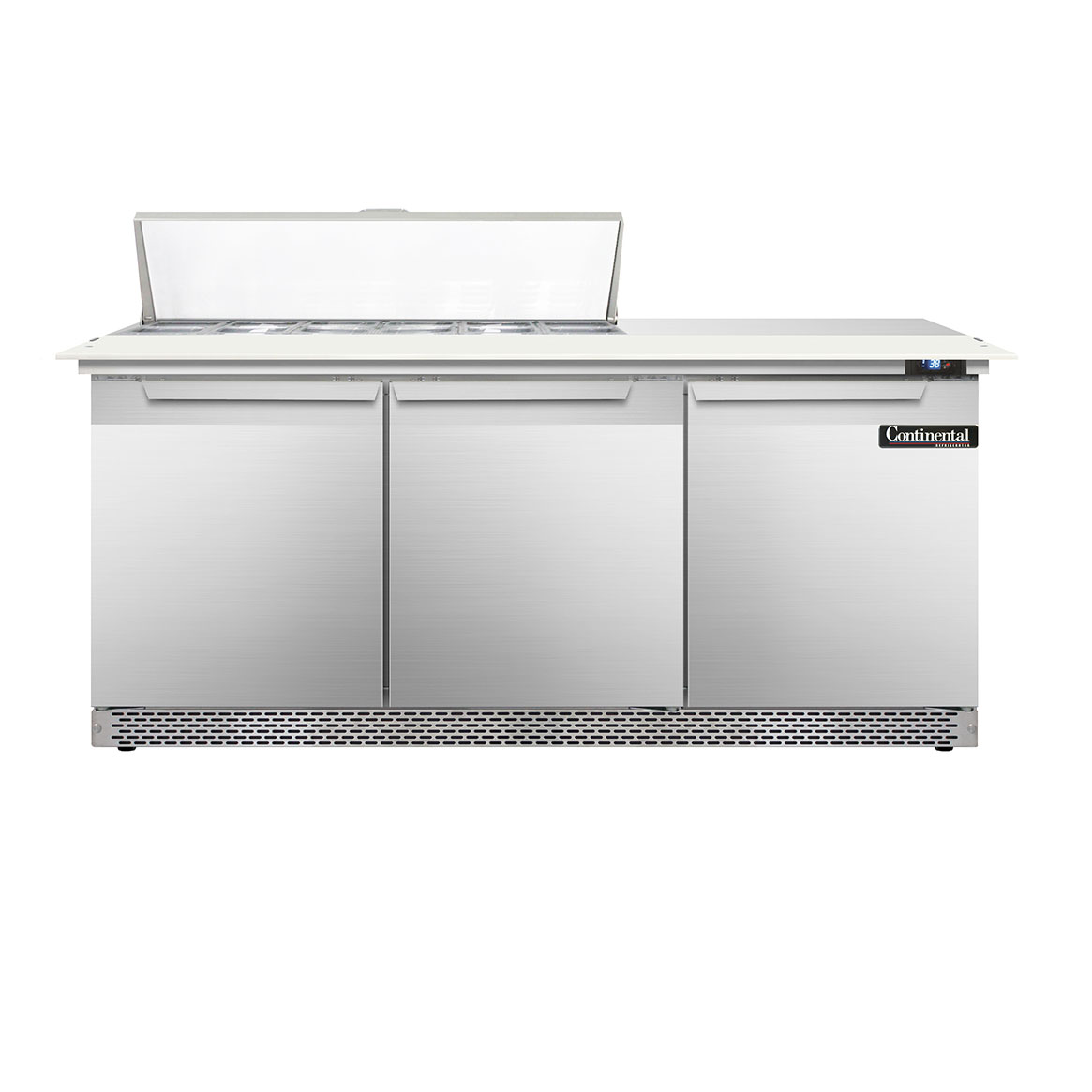 Continental Refrigerator DL72-12C-FB refrigerated counter, sandwich / salad unit