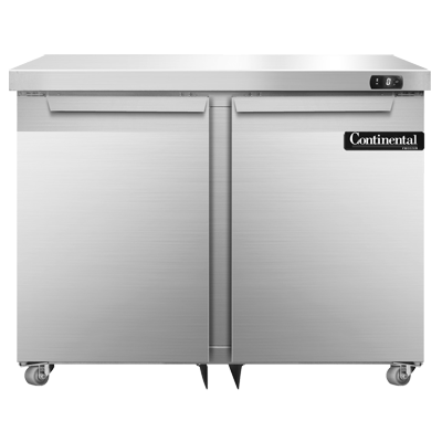 Continental Refrigerator DF36N-U freezer, undercounter, reach-in