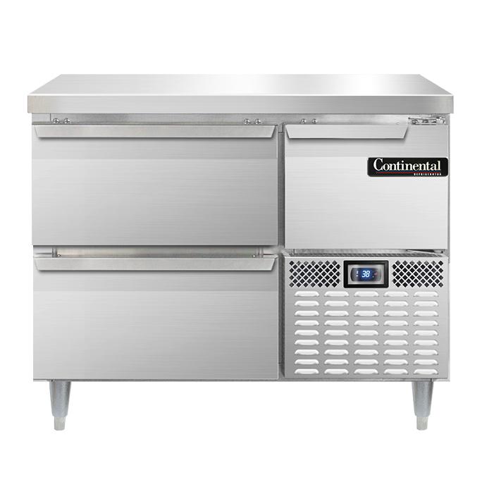 Continental Refrigerator DLRA43-SS-F refrigerator, fish / poultry