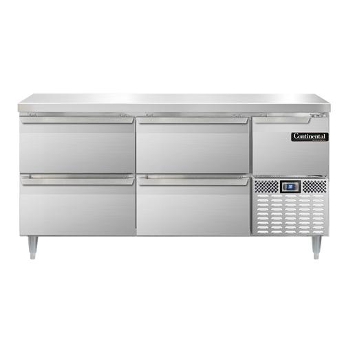 Continental Refrigerator DLRA68-SS-F refrigerator, fish / poultry