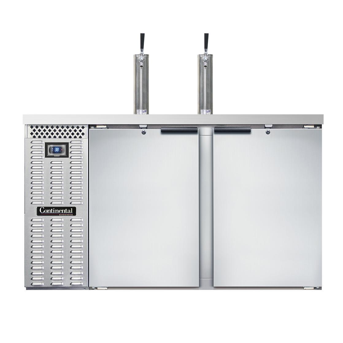 Continental Refrigerator KC59SNSS draft beer cooler