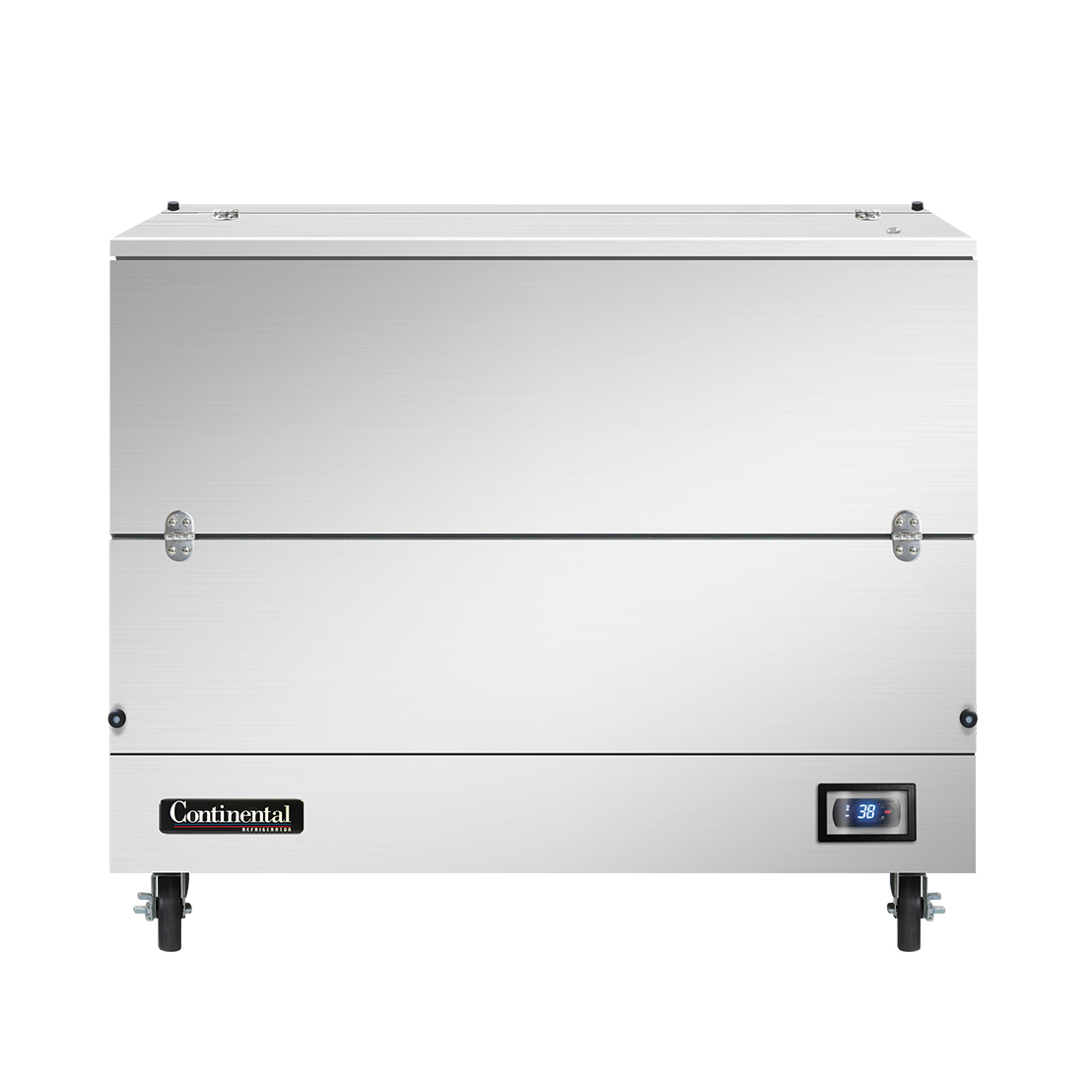 Continental Refrigerator MC4-SS-SCW milk cooler / station