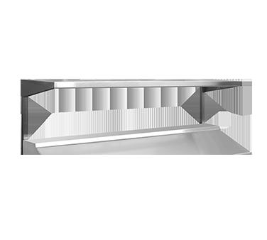 Continental Refrigerator SOS32 overshelf, table-mounted