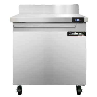 Continental Refrigerator SW32-BS refrigerated counter, work top