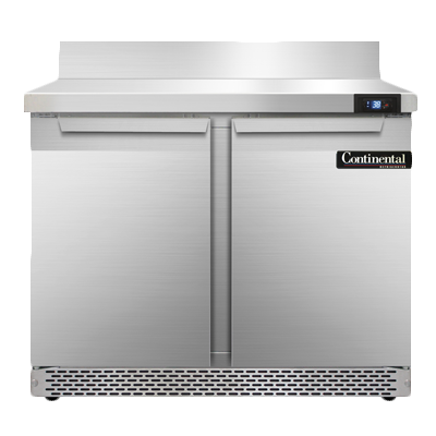 Continental Refrigerator SW36NBS-FB refrigerated counter, work top