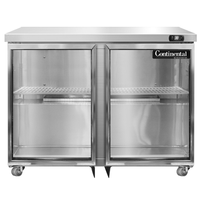 Continental Refrigerator SW36NGD-U refrigerator, undercounter, reach-in