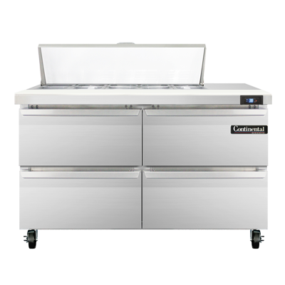 Continental Refrigerator SW48-10C-D refrigerated counter, sandwich / salad unit