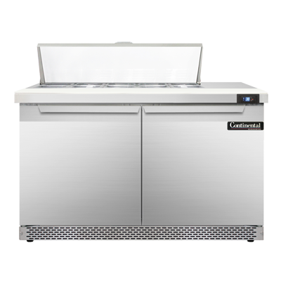 Continental Refrigerator SW48-10C-FB refrigerated counter, sandwich / salad unit