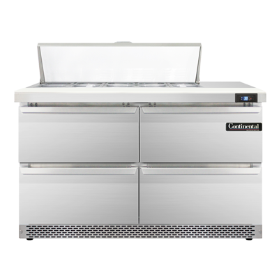 Continental Refrigerator SW48-10C-FB-D refrigerated counter, sandwich / salad unit