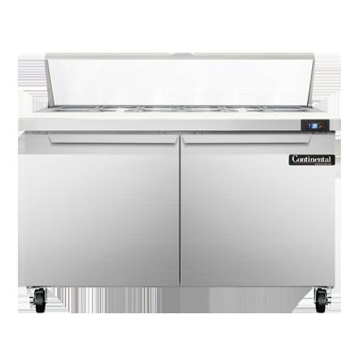 Continental Refrigerator SW48N12C refrigerated counter, sandwich / salad unit