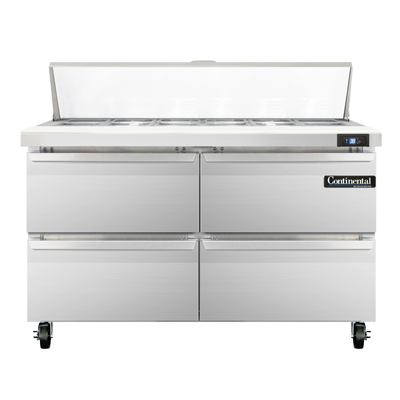 Continental Refrigerator SW48N12C-D refrigerated counter, sandwich / salad unit