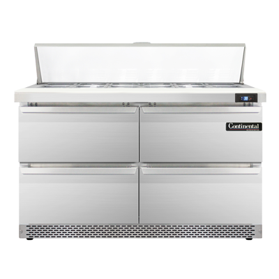 Continental Refrigerator SW48N12-FB-D refrigerated counter, sandwich / salad unit