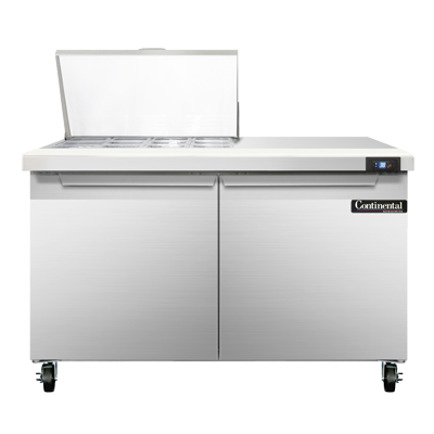 Continental Refrigerator SW48-12M refrigerated counter, mega top sandwich / salad unit