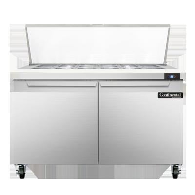 Continental Refrigerator SW48-18M refrigerated counter, mega top sandwich / salad unit