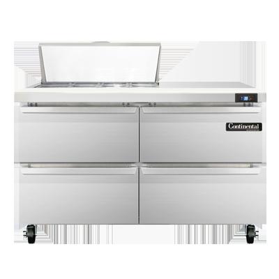 Continental Refrigerator SW48N8C-D refrigerated counter, sandwich / salad unit