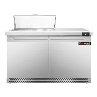 Continental Refrigerator SW48-8C-FB refrigerated counter, sandwich / salad unit