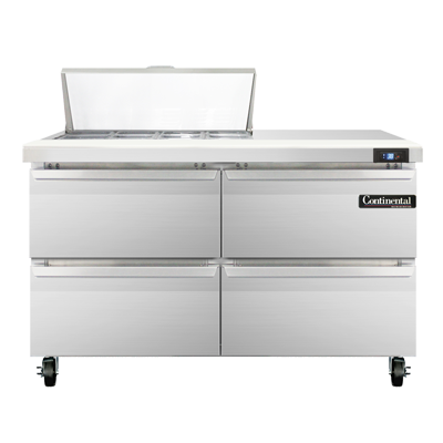 Continental Refrigerator SW48N8-D refrigerated counter, sandwich / salad unit