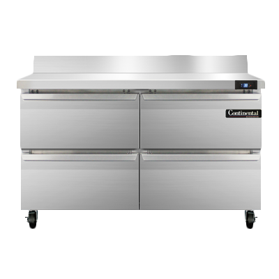 Continental Refrigerator SW48NBS-D refrigerated counter, work top