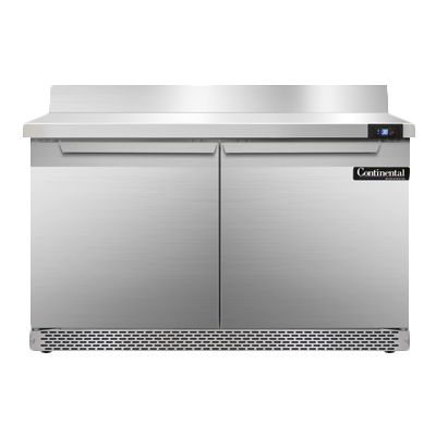 Continental Refrigerator SW48NBS-FB refrigerated counter, work top