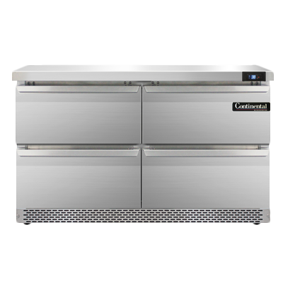 Continental Refrigerator SW48-FB-D refrigerated counter, work top