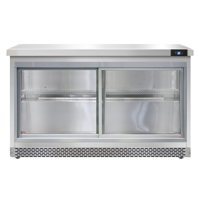 Continental Refrigerator SW48NSGD-FB refrigerated counter, work top