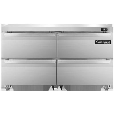 Continental Refrigerator SW48N-U-D refrigerator, undercounter, reach-in