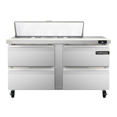 Continental Refrigerator SW60N12-D refrigerated counter, sandwich / salad unit