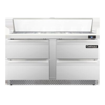 Continental Refrigerator SW60N16-FB-D refrigerated counter, sandwich / salad unit