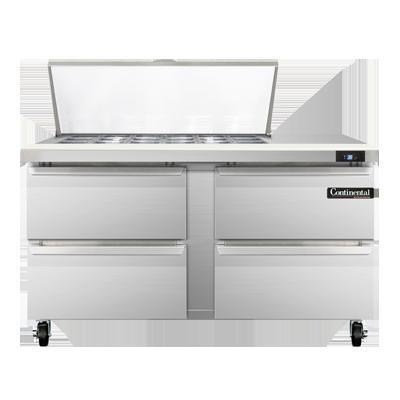 Continental Refrigerator SW60N18M-D refrigerated counter, mega top sandwich / salad unit