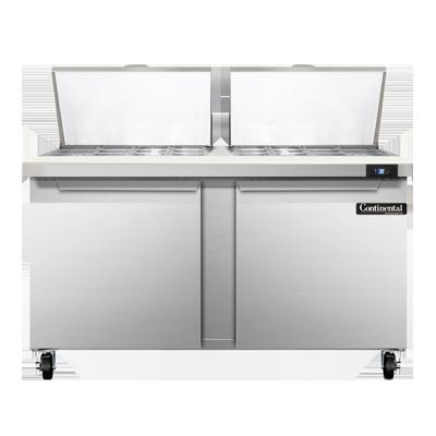 Continental Refrigerator SW60N24M refrigerated counter, mega top sandwich / salad unit