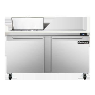 Continental Refrigerator SW60-8C refrigerated counter, sandwich / salad unit