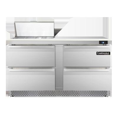 Continental Refrigerator SW60N8C-FB-D refrigerated counter, sandwich / salad unit