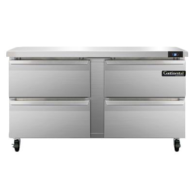 Continental Refrigerator SW60N-D refrigerated counter, work top