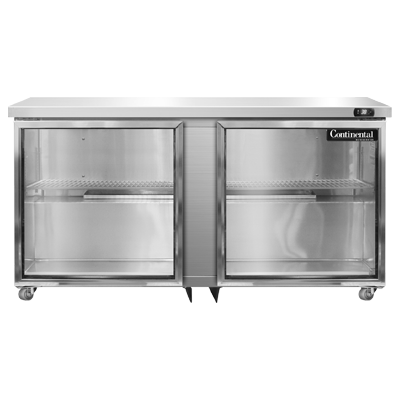 Continental Refrigerator SW60NGD-U refrigerator, undercounter, reach-in
