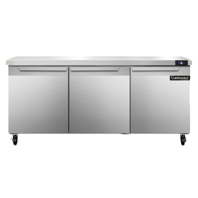Continental Refrigerator SW72N refrigerated counter, work top
