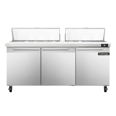 Continental Refrigerator SW72-18C refrigerated counter, sandwich / salad unit
