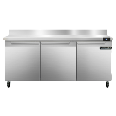 Continental Refrigerator SW72NBS refrigerated counter, work top