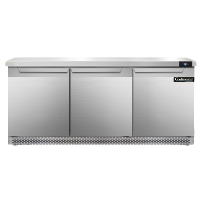Continental Refrigerator SW72-FB refrigerated counter, work top