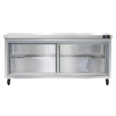 Continental Refrigerator SW72NSGD refrigerated counter, work top