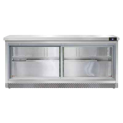 Continental Refrigerator SW72NSGD-FB refrigerated counter, work top