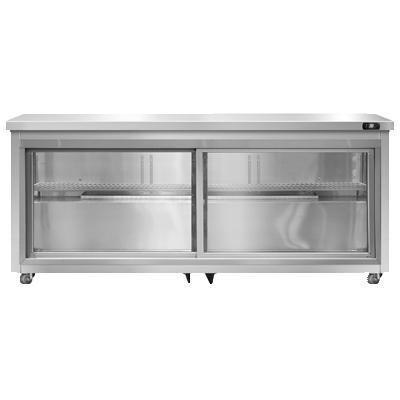 Continental Refrigerator SW72NSGD-U refrigerator, undercounter, reach-in