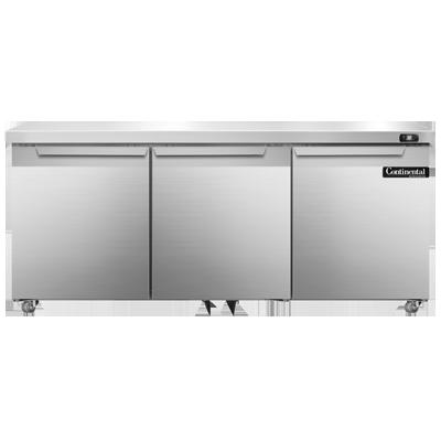 Continental Refrigerator SW72N-U refrigerator, undercounter, reach-in