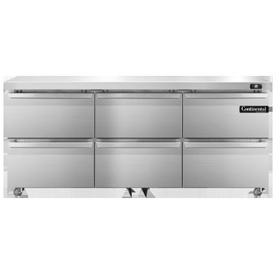 Continental Refrigerator SW72N-U-D refrigerator, undercounter, reach-in