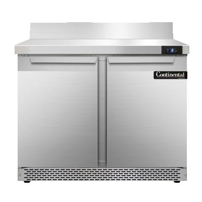 Continental Refrigerator SWF36-BS-FB freezer counter, work top