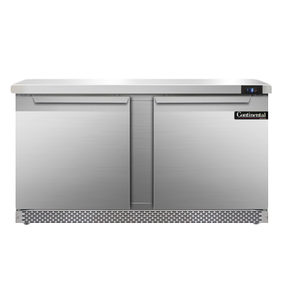 Continental Refrigerator SWF60N-FB freezer counter, work top