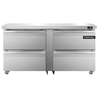 Continental Refrigerator SWF60N-U-D freezer, undercounter, reach-in