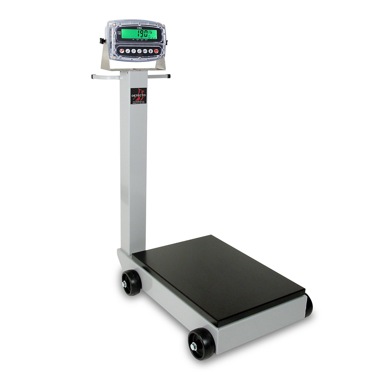 Detecto 5852F-190 scale, receiving, digital