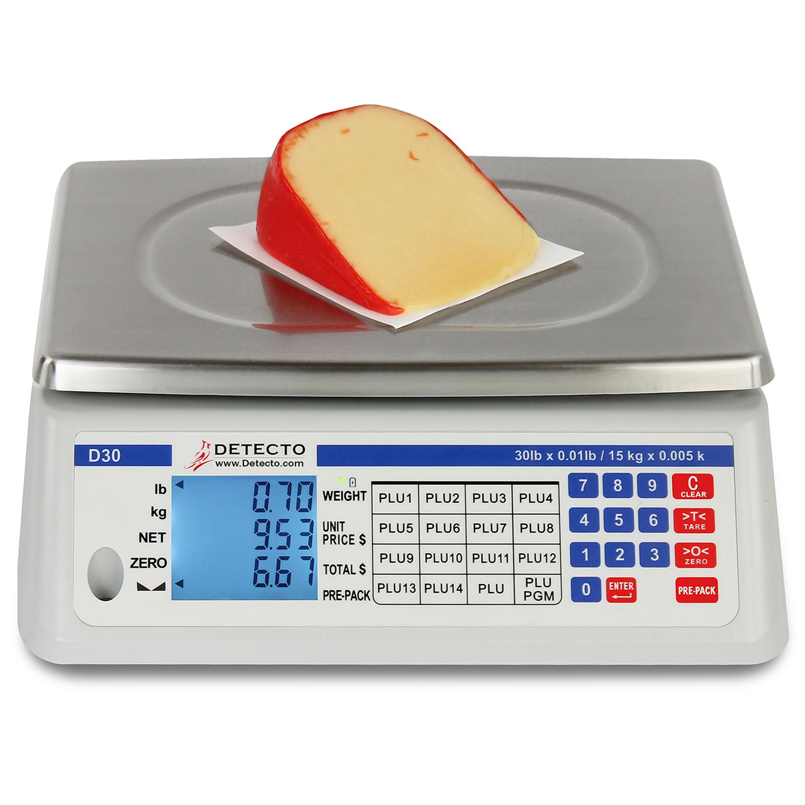 Detecto D60 scale, price computing