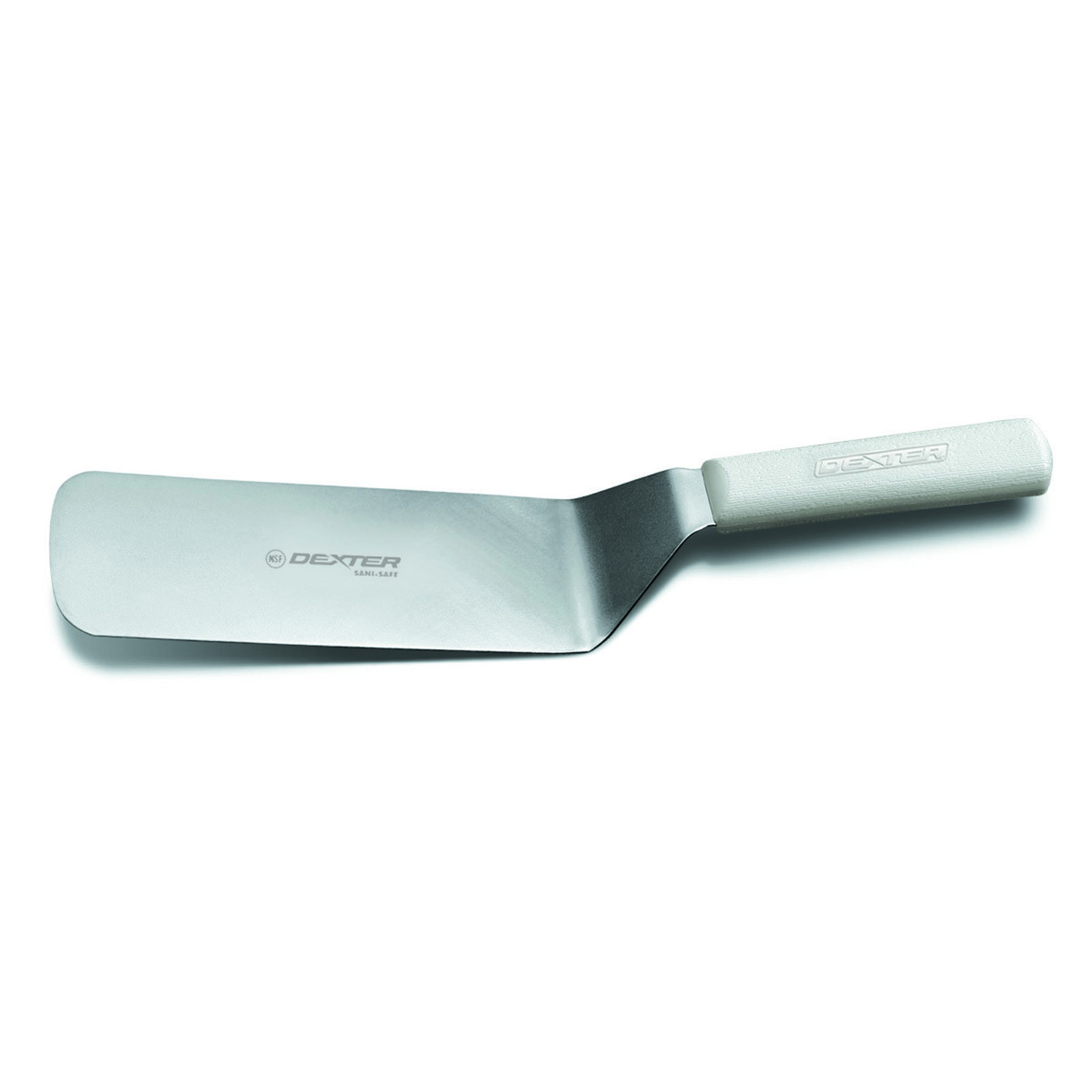 Dexter Russell S286-8PCP turner, solid, stainless steel